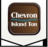 Chevron Island Tan Logo